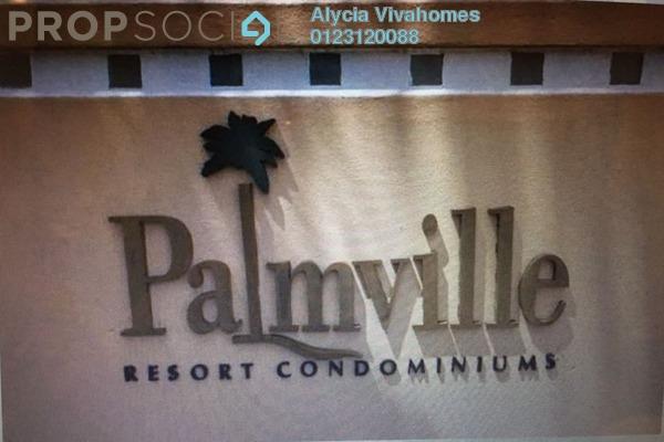Condominium For Sale in Palmville, Bandar Sunway Freehold Semi Furnished 3R/2B 695k