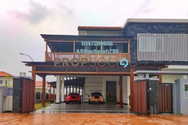 Semi-Detached For Sale in Temasya Cinta, Temasya Glenmarie Freehold Semi Furnished 6R/5B 3.97m