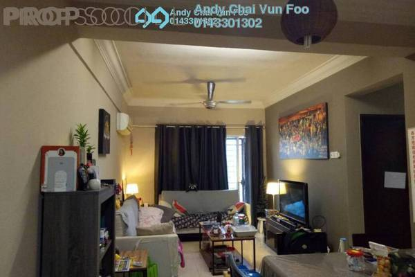 Condominium For Sale in Ampang Boulevard, Ampang Freehold Semi Furnished 3R/2B 480k
