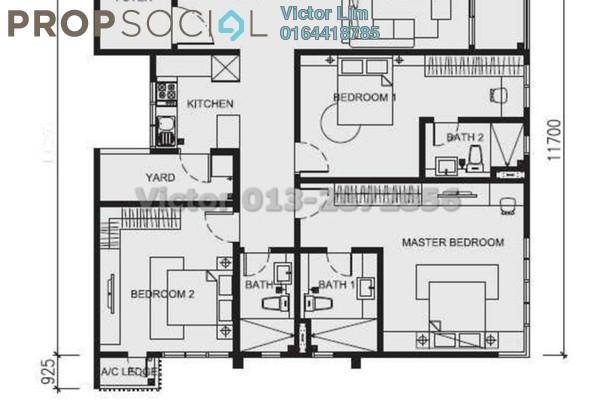 Condominium For Sale in Nova Saujana, Saujana Freehold Fully Furnished 3R/3B 1.3m