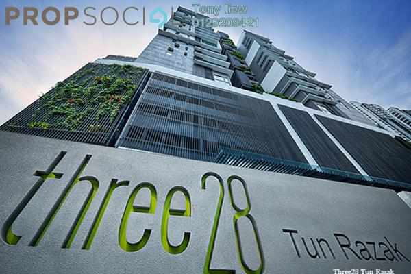 Condominium For Rent in Three28 Tun Razak, KLCC Freehold Fully Furnished 2R/2B 3.9k