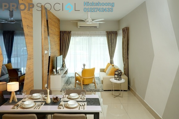 Condominium For Sale in Razak City Residences, Sungai Besi Leasehold Unfurnished 2R/2B 358k