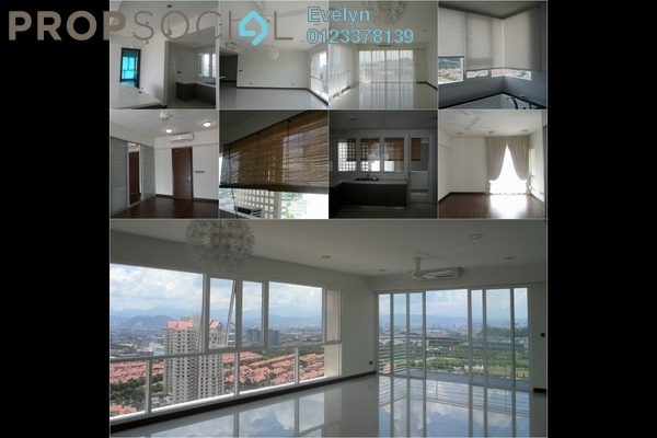 Condominium For Rent in The Northshore Gardens, Desa ParkCity Freehold Semi Furnished 3R/0B 7k