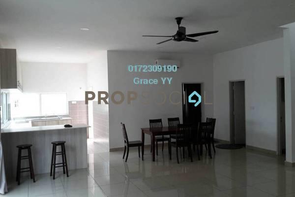 Semi-Detached For Rent in Garden Residence, Cyberjaya Freehold Semi Furnished 5R/4B 3k