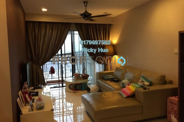 Condominium For Sale in Casa Indah 1, Tropicana Freehold Unfurnished 2R/2B 765k