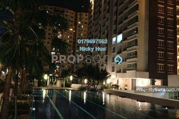 Condominium For Rent in Zenith Residences, Kelana Jaya Freehold Semi Furnished 3R/2B 1.8k