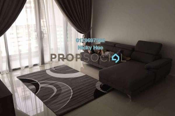 Condominium For Rent in Reflection Residences, Mutiara Damansara Freehold Fully Furnished 3R/2B 4k