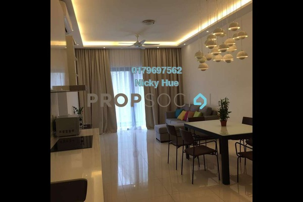 Condominium For Rent in Reflection Residences, Mutiara Damansara Freehold Fully Furnished 3R/2B 3.2k