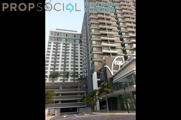 Condominium For Rent in Vega Residensi, Cyberjaya Freehold Semi Furnished 1R/1B 1k