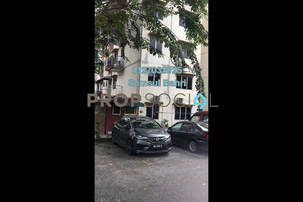 Apartment For Sale in SS6, Kelana Jaya Leasehold Unfurnished 2R/1B 280k