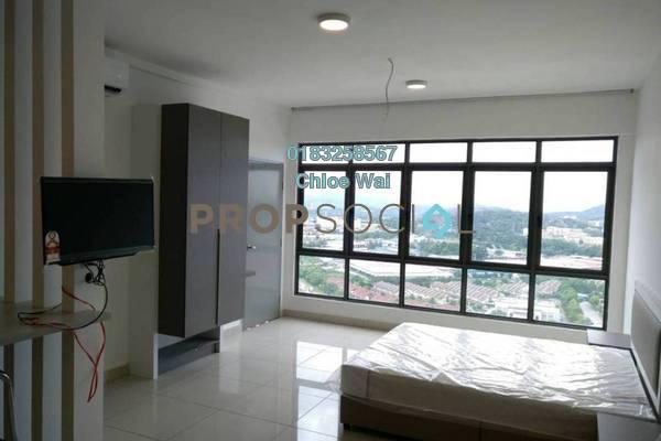 Condominium For Sale in EVO Soho Suites, Bandar Baru Bangi Leasehold Fully Furnished 1R/1B 290k