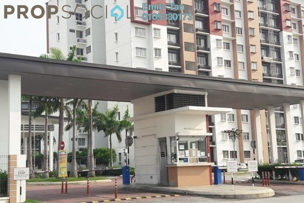 Apartment For Rent in Seri Jati Apartment, Setia Alam Freehold Semi Furnished 3R/2B 1k