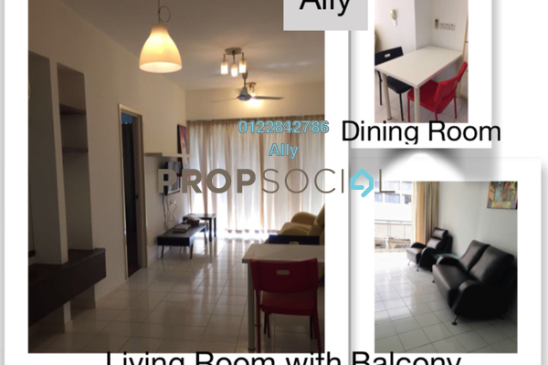 Condominium For Sale in 38 Bidara, Bukit Ceylon Freehold fully_furnished 2R/2B 650k
