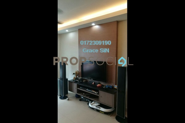 Condominium For Rent in Villa Orkid, Segambut Freehold Fully Furnished 4R/3B 2.3k