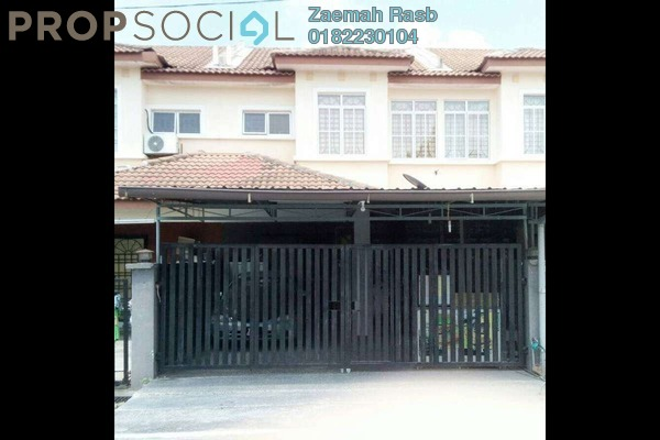 Terrace For Sale in Bandar Tasik Kesuma, Semenyih Freehold Semi Furnished 4R/3B 390k