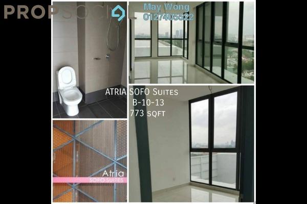 Condominium For Sale in Atria, Damansara Jaya Freehold Unfurnished 1R/1B 700k