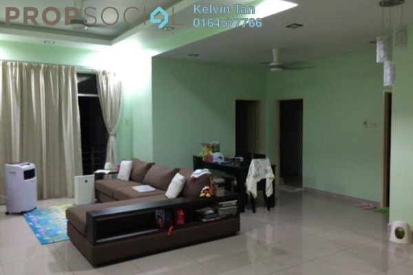 Condominium For Sale in Ideal Regency, Bukit Gambier Freehold Fully Furnished 3R/2B 700k