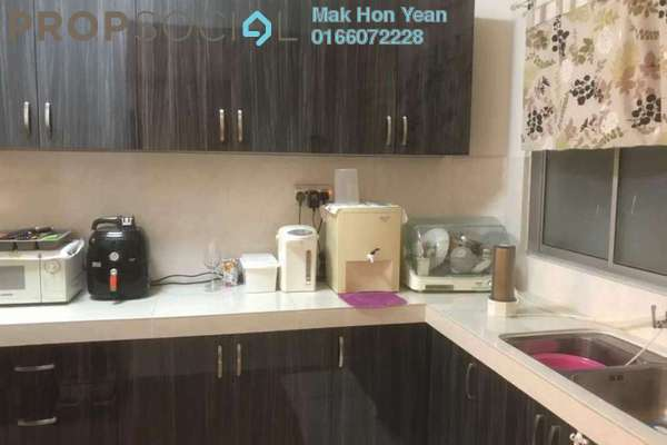 Condominium For Sale in La Vista, Bandar Puchong Jaya Freehold Semi Furnished 3R/3B 628k