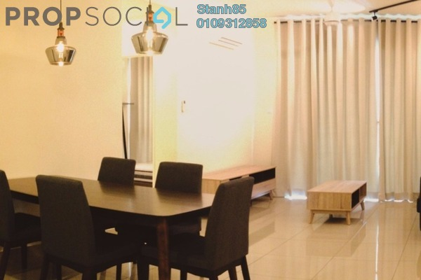 Condominium For Rent in Ascenda Residence @ SkyArena, Setapak Freehold Fully Furnished 3R/2B 2.4k