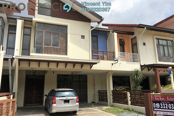 Terrace For Rent in Lagenda 1, Bukit Jelutong Freehold Semi Furnished 6R/6B 2.9k