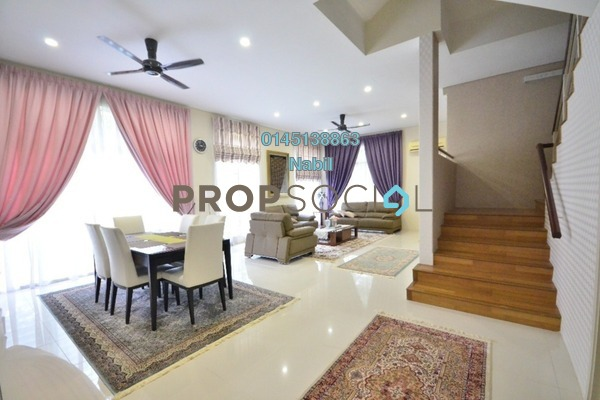 Terrace For Sale in Section 4, Shah Alam Freehold Unfurnished 4R/3B 2.5m