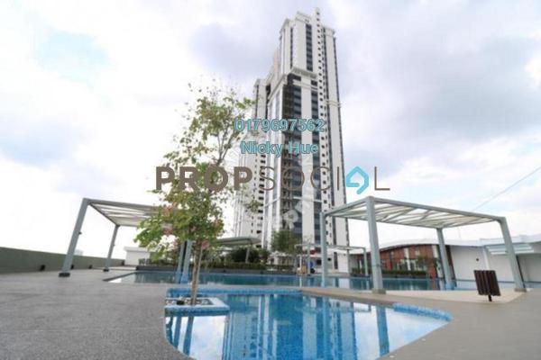 Condominium For Sale in Encorp Strand Residences, Kota Damansara Leasehold Fully Furnished 3R/2B 928k