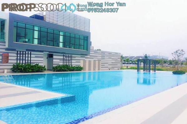 Terrace For Sale in Lakeside Residences, Puchong Freehold Unfurnished 4R/3B 780k