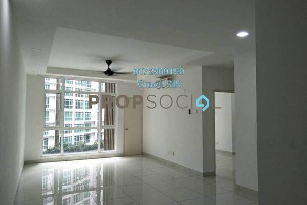 Condominium For Rent in The Court, Sungai Besi Freehold Semi Furnished 2R/2B 1.6k