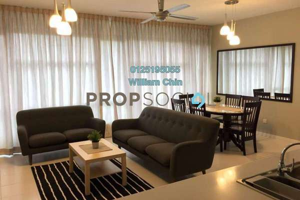 Condominium For Rent in The Saffron, Sentul Freehold fully_furnished 3R/2B 2.8k