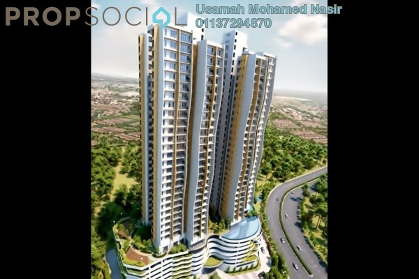 For Sale Condominium at The Clio Residences, IOI Resort City Freehold Unfurnished 3R/2B 730k