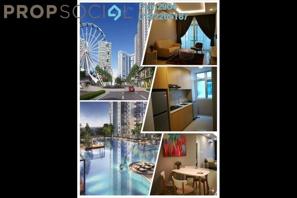 Condominium For Sale in Sentral Bazar, Nilai Freehold Semi Furnished 1R/1B 210k