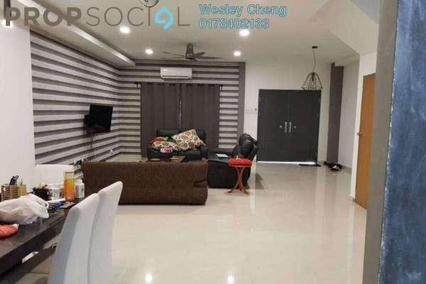 Terrace For Sale in Bukit Prima Pelangi, Segambut Freehold Fully Furnished 4R/2B 1.1m