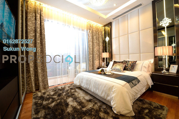 Condominium For Sale in Dorsett Residences, Bukit Bintang Freehold Fully Furnished 2R/2B 1.88m