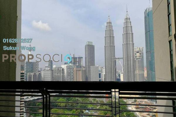 Condominium For Rent in The Binjai On The Park, KLCC Freehold Semi Furnished 3R/3B 13k