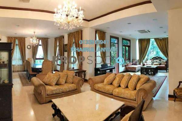 Bungalow For Sale in Sri Bukit Persekutuan, Bangsar Freehold Fully Furnished 7R/6B 6.8m