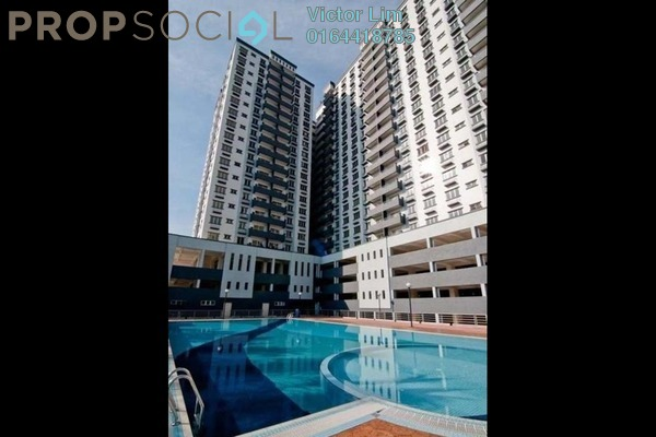 Condominium For Sale in Zefer Hill Residence, Bandar Puchong Jaya Freehold Unfurnished 4R/4B 776k