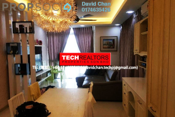 For Sale Condominium at Boulevard Residence, Bandar Utama Leasehold Fully Furnished 3R/2B 765k