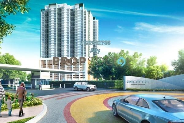 Condominium For Sale in Ascenda Residence @ SkyArena, Setapak Freehold Semi Furnished 3R/2B 1.05m