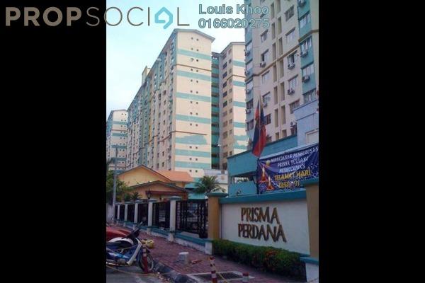 Condominium For Sale in Prisma Perdana, Cheras Freehold Unfurnished 3R/2B 300k
