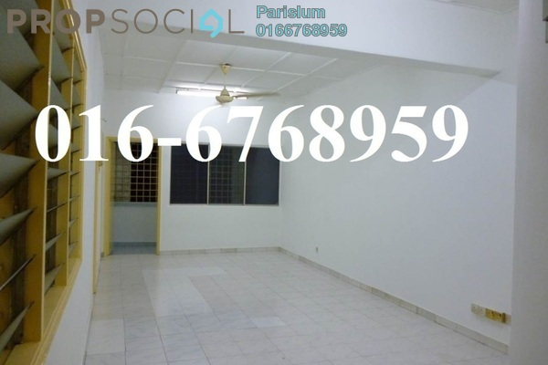 Link For Rent in Pandan Jaya, Pandan Indah Freehold Unfurnished 3R/2B 1.4k