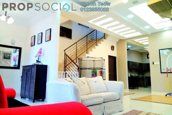 Semi-Detached For Sale in Taman Aman Perdana, Meru Freehold Semi Furnished 4R/3B 758k
