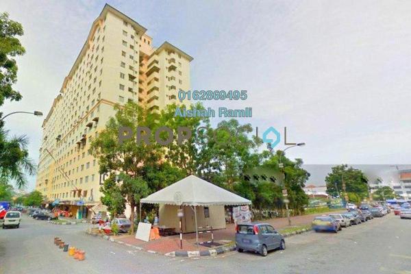 Apartment For Sale in Sri Rakyat Apartment, Bukit Jalil Freehold Semi Furnished 3R/1B 225k
