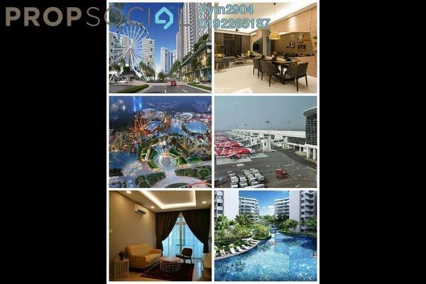 Condominium For Sale in Nada Alam, Nilai Freehold Semi Furnished 1R/1B 210k