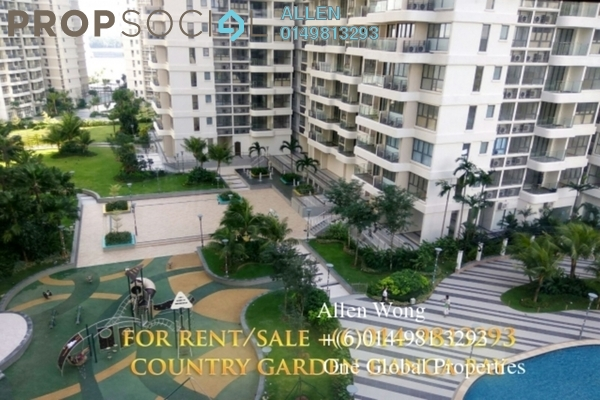 Condominium For Sale in Country Garden Danga Bay, Danga Bay Freehold Fully Furnished 2R/1B 7m