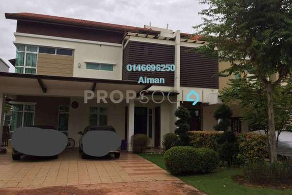 Semi-Detached For Sale in Setia Eco Park, Setia Alam Freehold Unfurnished 6R/6B 2.2m