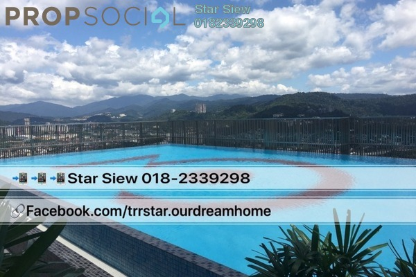 Condominium For Rent in 3 Towers, Ampang Hilir Freehold Semi Furnished 2R/1B 2.8k