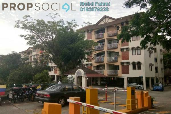Apartment For Sale in Intan Apartment, Setiawangsa Freehold Semi Furnished 3R/2B 370k