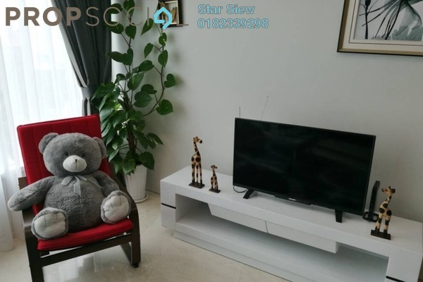 Condominium For Rent in Vortex Suites & Residences, KLCC Freehold Fully Furnished 2R/2B 3.3k