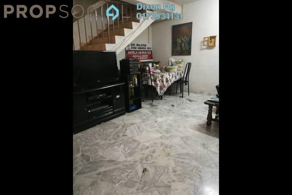 Terrace For Sale in Pandan Perdana, Pandan Indah Freehold Semi Furnished 4R/3B 598k