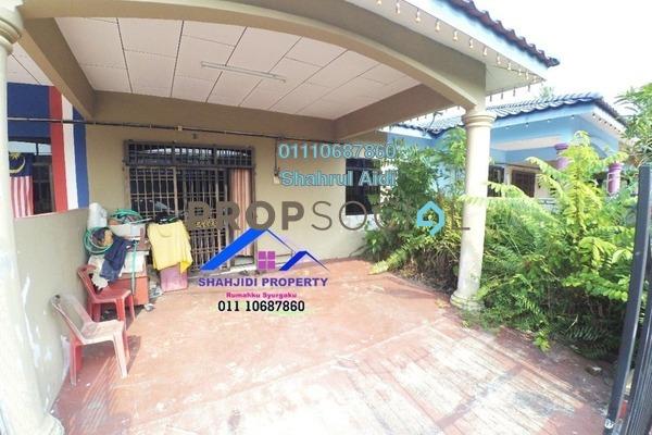 Terrace For Sale in Taman Sri Gading, Muar Freehold Semi Furnished 3R/2B 250k